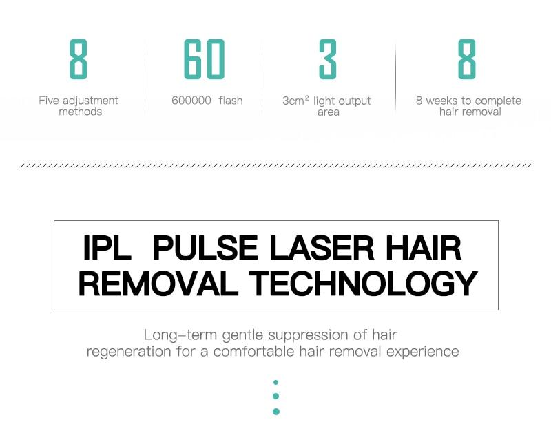 Professional Permanent IPL Laser Depilator